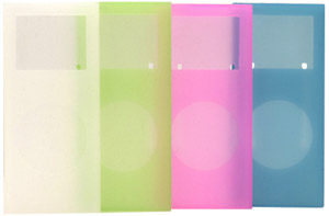 写真:【販売終了】 第二世代iPod nano用シリコンケース4色セット(CIC-N2S4P)