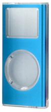 写真:【販売終了】 第二世代iPodnano用メタルクリスタルケース/ブルー(CIC-N2ALBL)