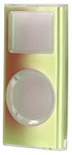 写真:【販売終了】 第二世代iPodnano用メタルクリスタルケース/グリーン(CIC-N2ALGR)