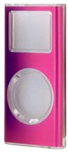 写真:【販売終了】 第二世代iPodnano用メタルクリスタルケース/ピンク(CIC-N2ALPK)
