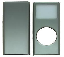 写真:【販売終了】 第二世代iPod nano用メタリックプロテクター/ブルーメタリック(CIC-N2MSBL)