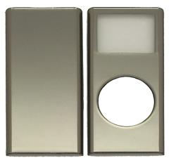 写真:【販売終了】 第二世代iPod nano用メタリックプロテクター/シルバーメタリック(CIC-N2MSSV)