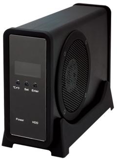 写真:【販売終了】 冷やし系HDD検温番/マットブラック(CLS35EU2BF)