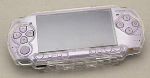 写真:【販売終了】 PSP-2000専用クリスタルハードケース(CPA-P2KCW)