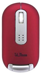 写真:【販売終了】 TELマウス/レッド(CTM-RD)