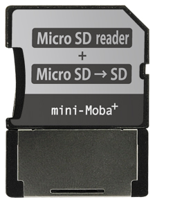 写真:【販売終了】 ミニモバ+(MCSDR-U2SD)