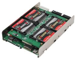 写真:【販売終了】 シリコンディスクビルダーCF RAID 3.5 IDE/SATA(SDB35CF4PS/R5)