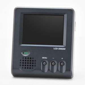 写真:【販売終了】 超小型2インチ液晶モニター(LCD-2000AV)