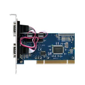 写真:ポートを増やしタイ シリアル2ポートPCI接続インターフェイスカード(CIF-S2PCI)