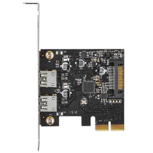 写真:ポートを増やしタイ USB3.1×2ポート PCI Express x2接続インターフェイスカード (CIF-U31P2)