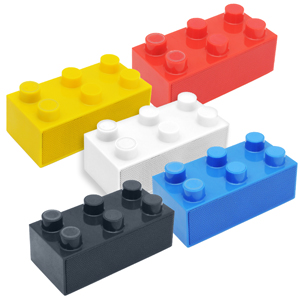 写真:次世代スマートフォンスピーカー BrickS【ブリックス】(BRICKS-BL/-RD/-YL/-BK/-WT)
