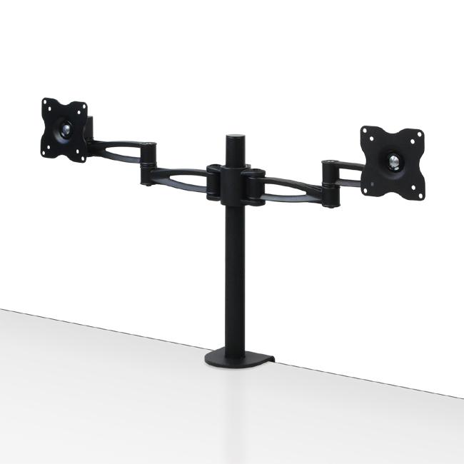 4軸式フリーアングルデュアルモニターアーム「鉄腕」(CEN-SRB-M004)