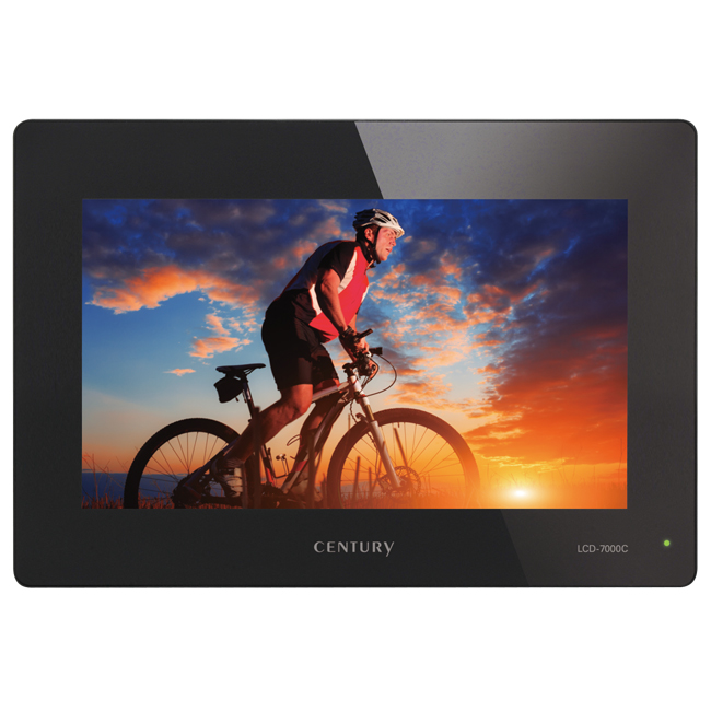 7インチコンポジットビデオモニター plus one VIDEO (LCD-7000C)