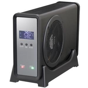 四代目冷やし系HDD検温番 USB3.0 ブラック (CLS35U3BKF6G)