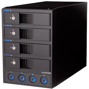 裸族の集合住宅5Bay SATA6G USB3.0&eSATA Ver.2 (CRSJ535EU3S6G2)