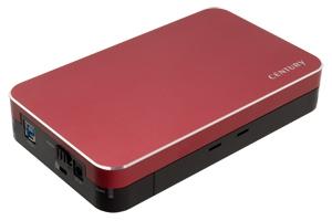 SIMPLE SMART BOX 3.5 ミラージュレッド (CSB35U3RD6G)