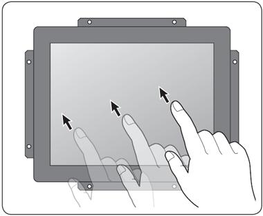 タッチパネルイメージ